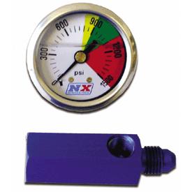 Nitrous Flo-Thru Pressure Guage - Product Image