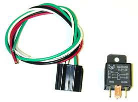 60 Amp Relay with Harness - Product Image